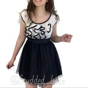 Disney Black and White Princess Dress